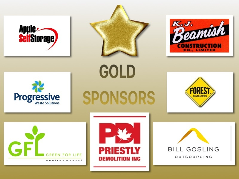 Our Thanks to these Gold Level  Sponsors