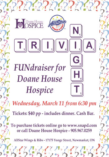 Trivia Pub Night 2015