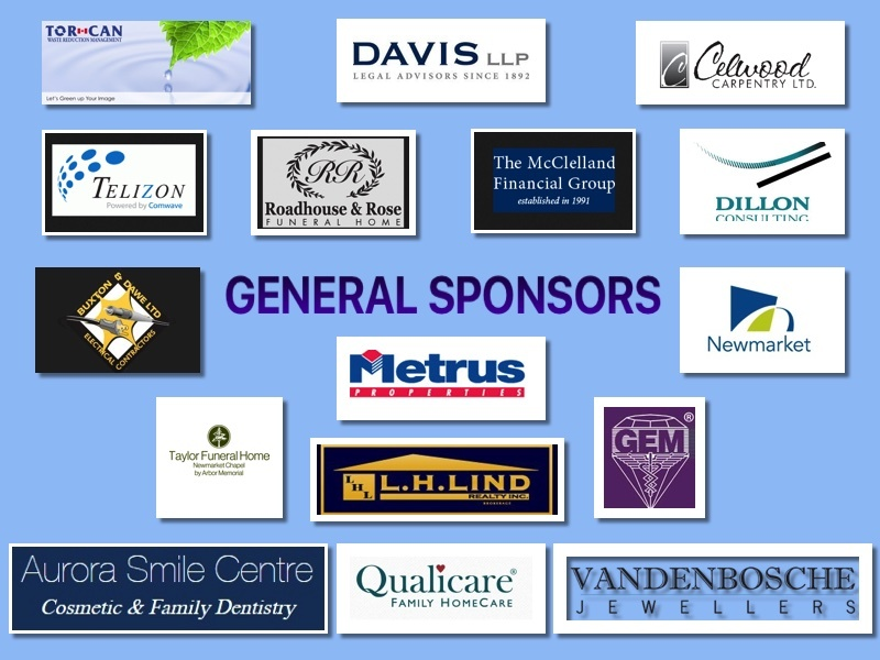 Our thanks to all these Sponsors for their support throughout the year.